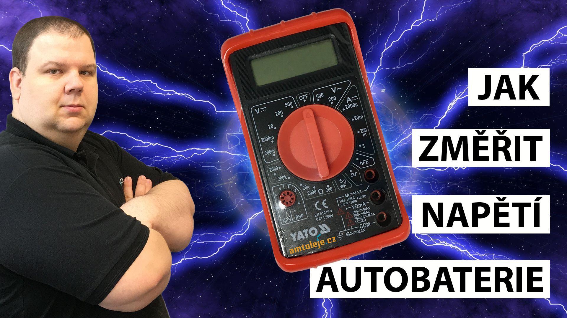 VIDEO - Jak změřit napětí autobaterie