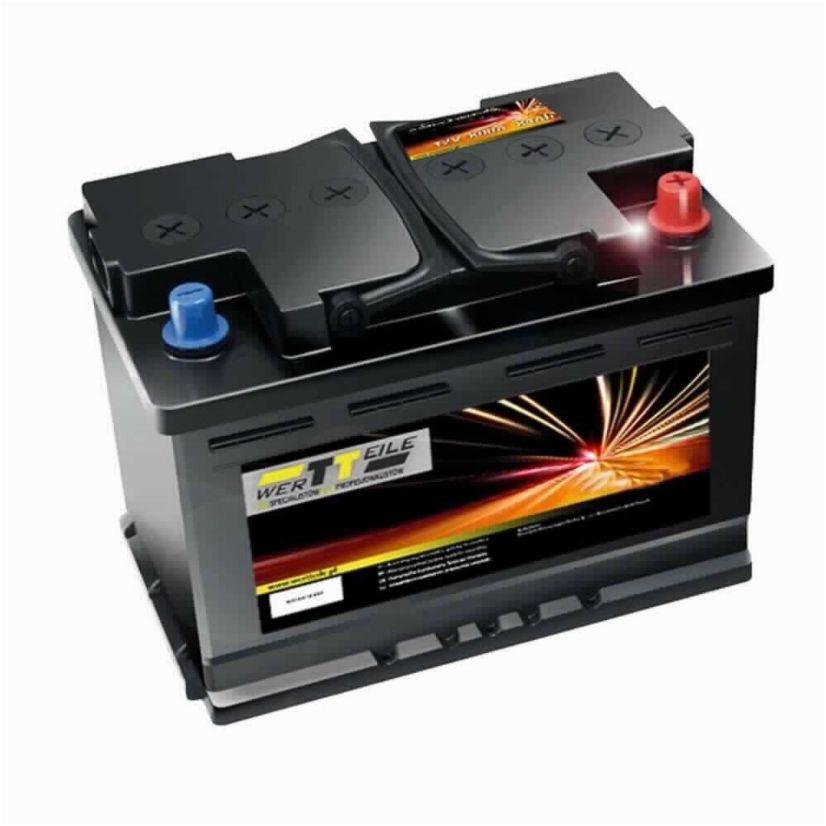 Autobaterie Wertteile 74Ah 680A (Autobaterie Wertteile - výrobce VARTA)