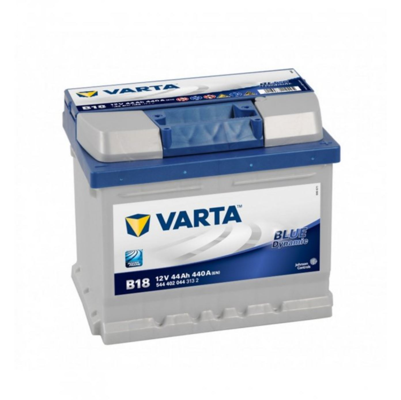Varta Blue Dynamic 12V 44Ah 440A 544 402 044