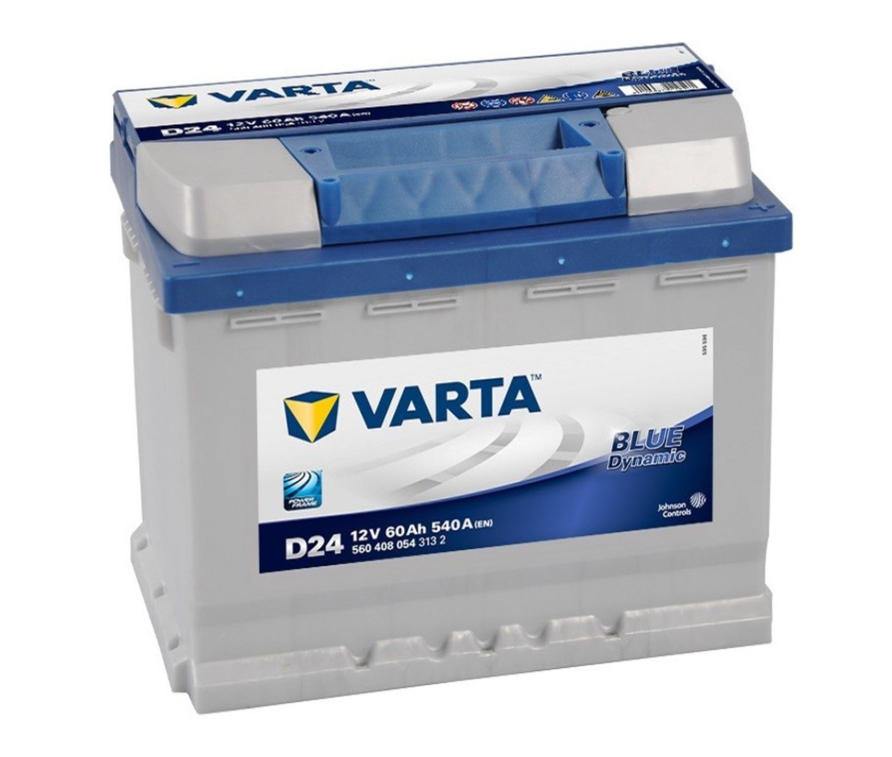 Varta Blue Dynamic 12V 60Ah 540A 560 408 054