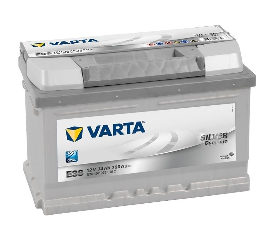 Varta Silver Dynamic 12V 74Ah 750A 574 402 075 E38