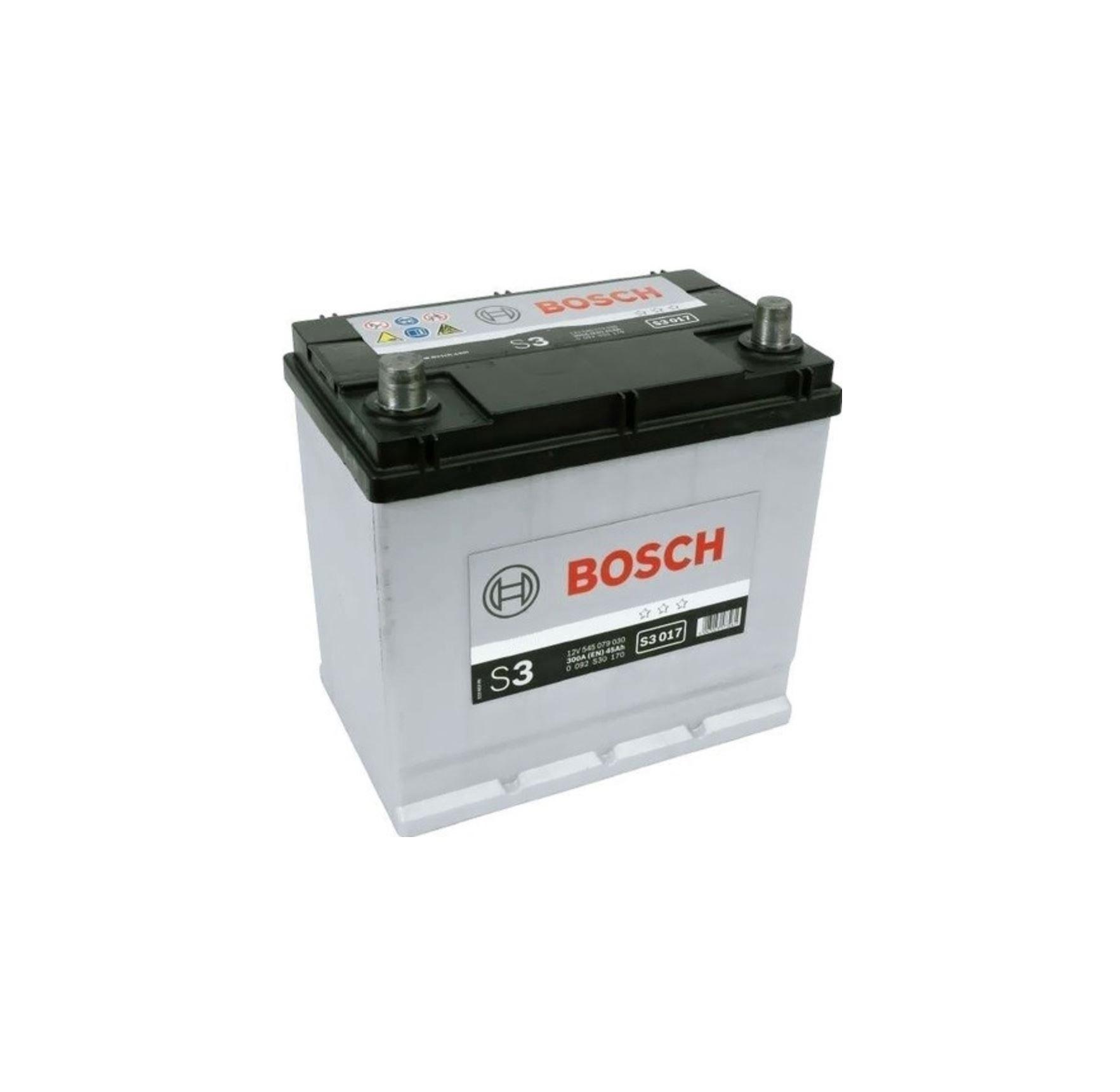 Bosch S3 12V 45Ah 300A 0 092 S30 170