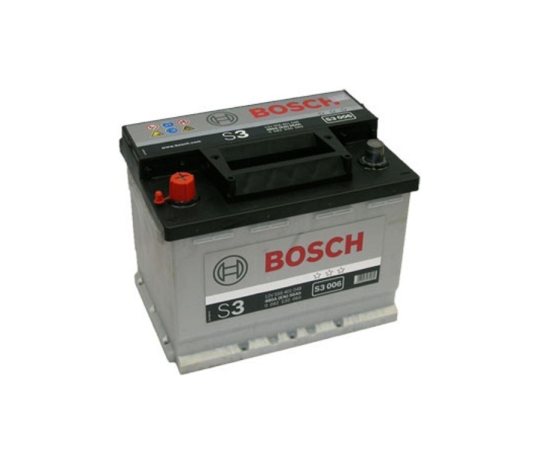 Bosch S3 12V 56Ah 480A 0 092 S30 060