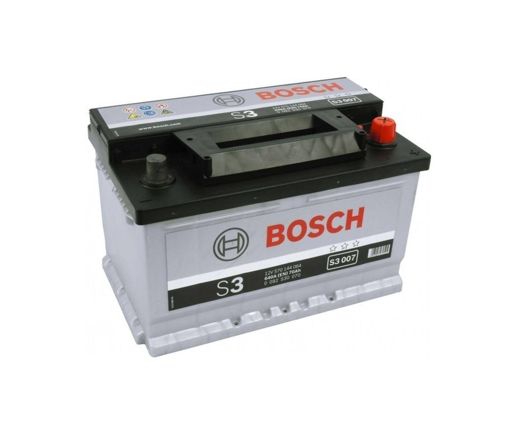Bosch S3 12V 70Ah 640A 0 092 S30 070