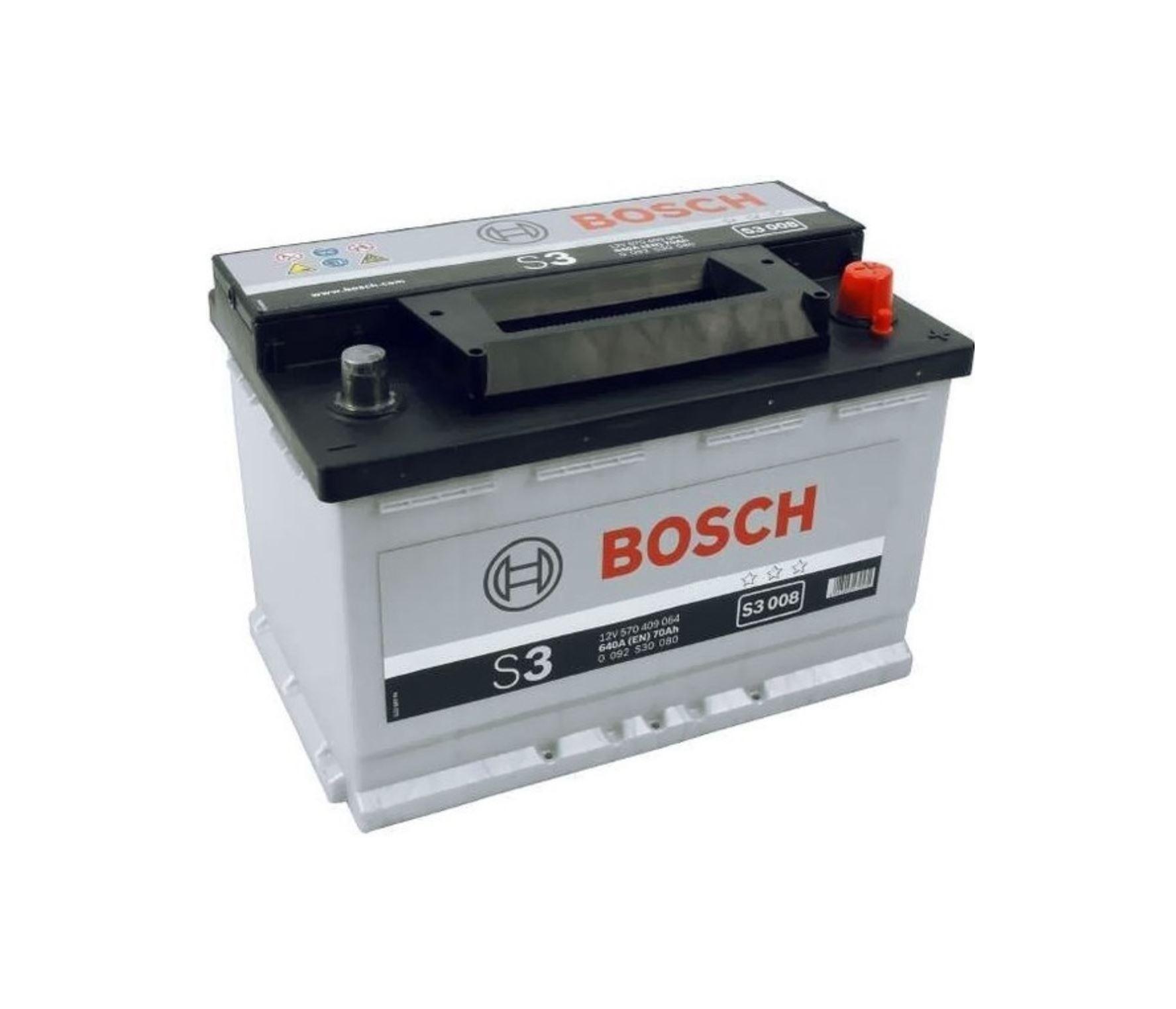 Bosch S3 12V 70Ah 640A 0 092 S30 080