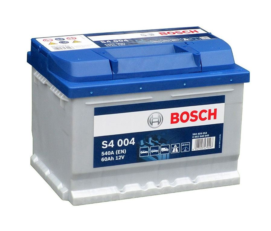 Autobaterie Bosch S4 12V 60Ah 540A