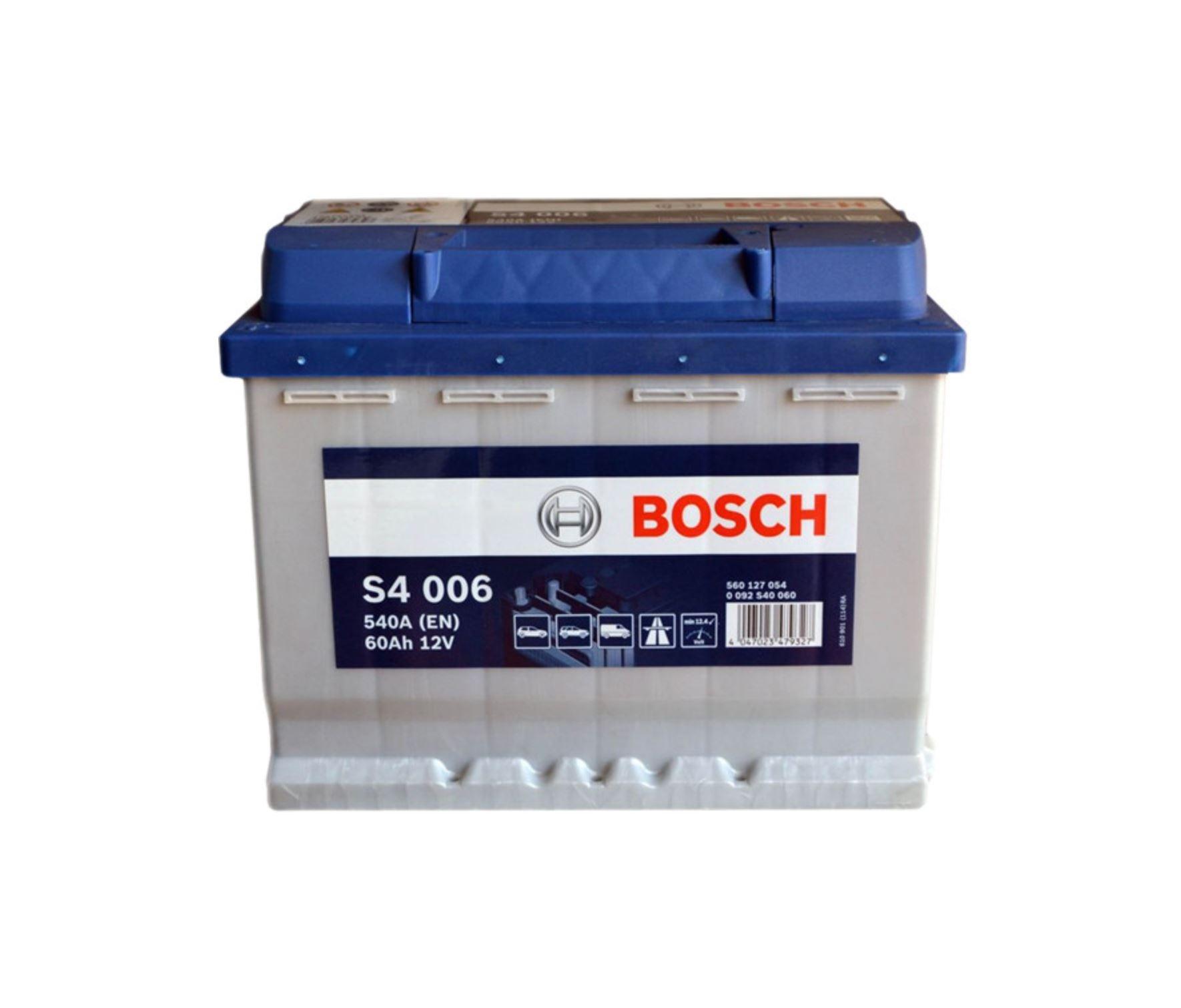 Bosch S4 12V 60Ah 540A 0 092 S40 060