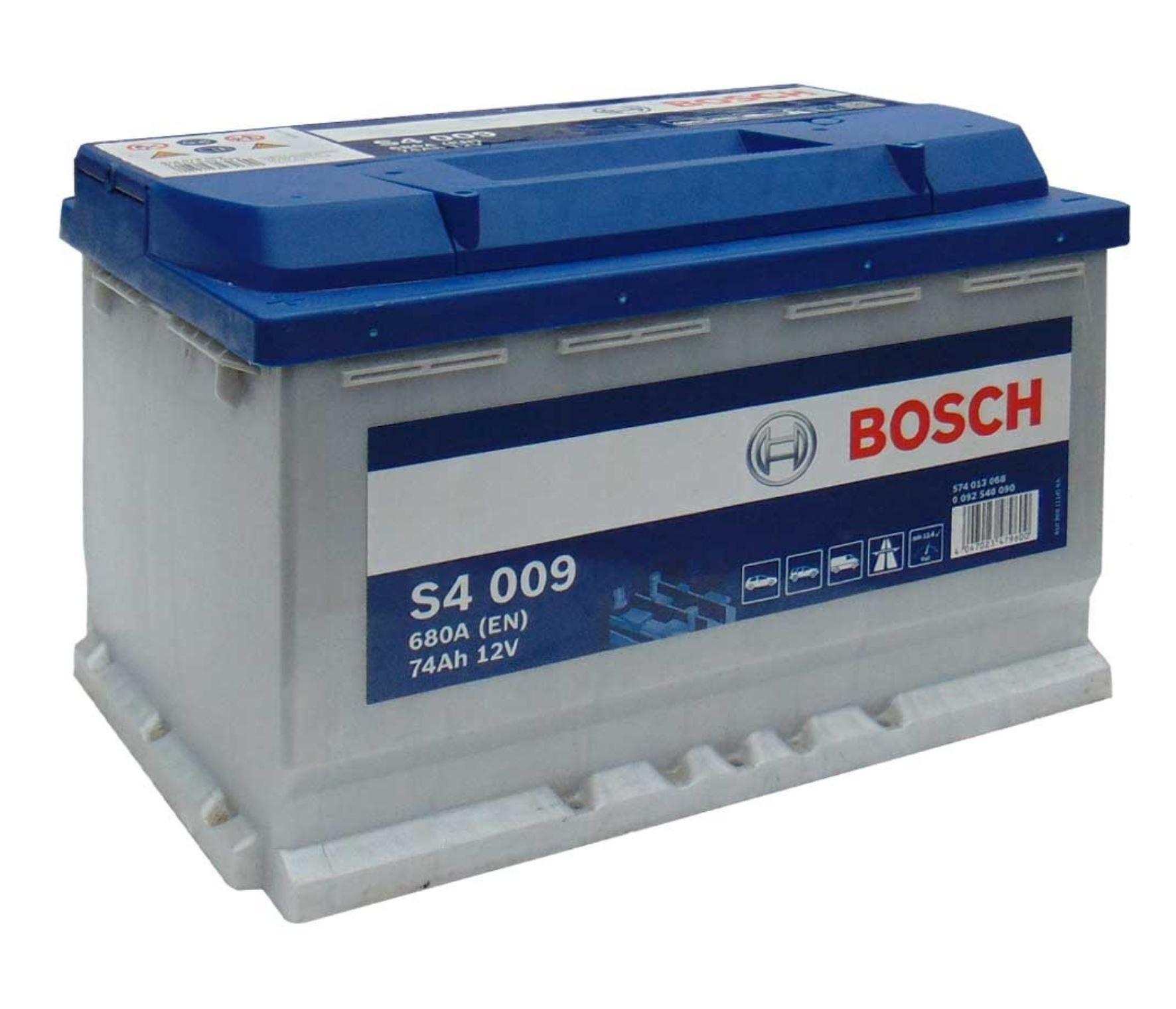 Bosch S4 12V 74Ah 680A 0 092 S40 090