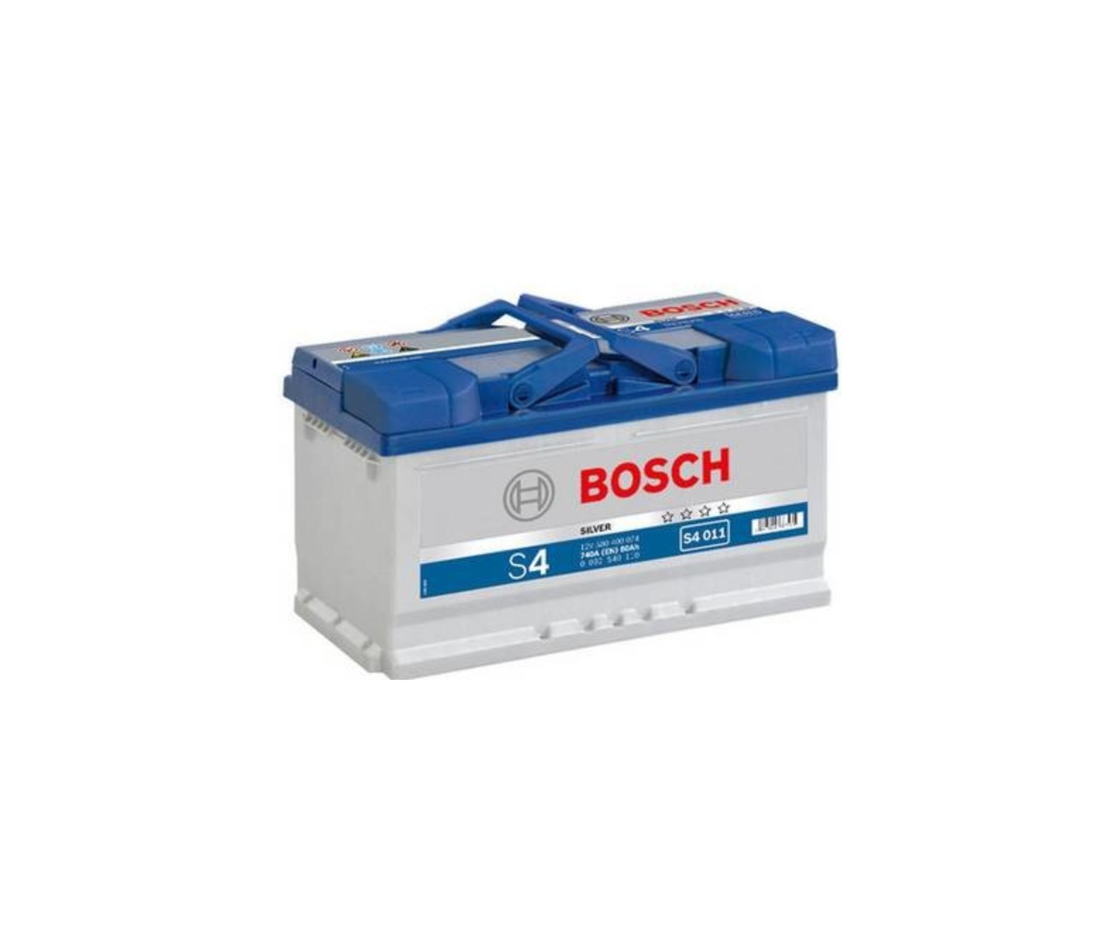 Autobaterie Bosch S4 12V 80Ah 740A S4 011