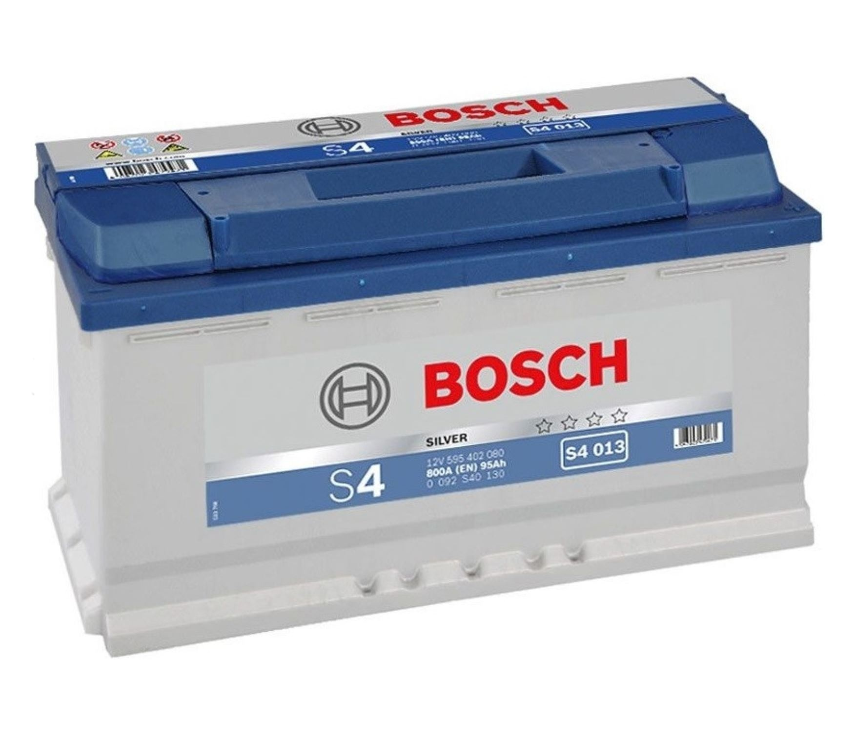 Autobaterie Bosch S4 12V 95Ah 800A