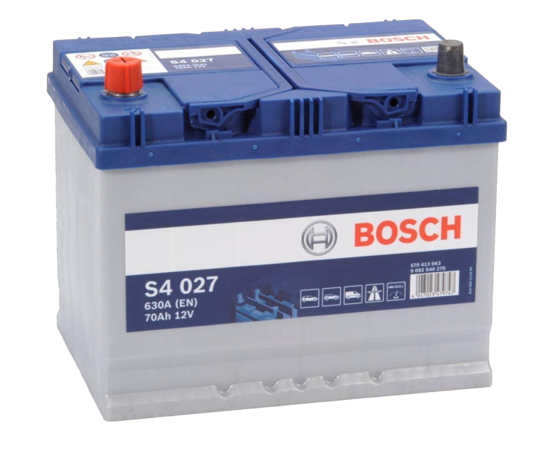 Bosch S4 12V 70Ah 630A 0 092 S40 270