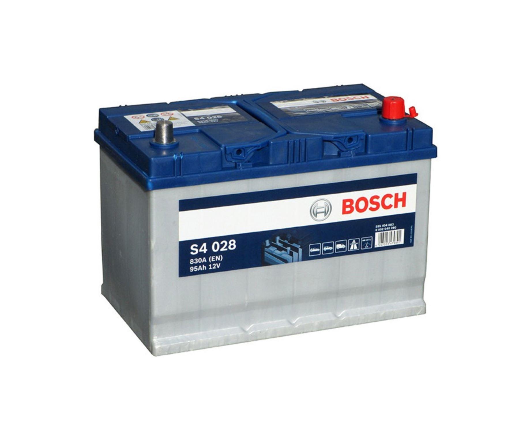 Bosch S4 12V 95Ah 830A 0 092 S40 280
