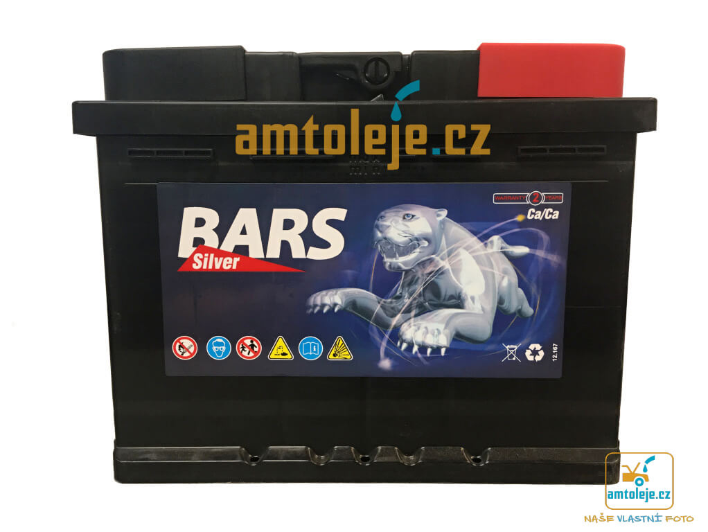 Autobaterie BARS SILVER 12V 55Ah 480A