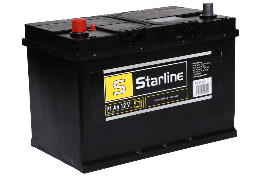 STARLINE 91Ah 740A 12V - Levé PLUS