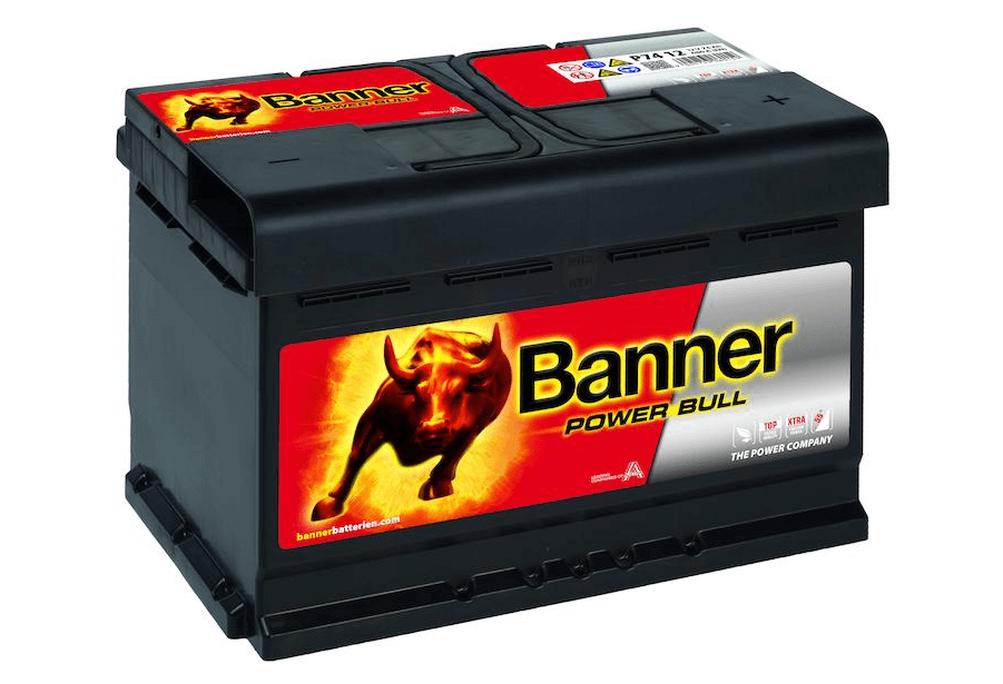 Banner Power Bull 12V 74Ah 680A