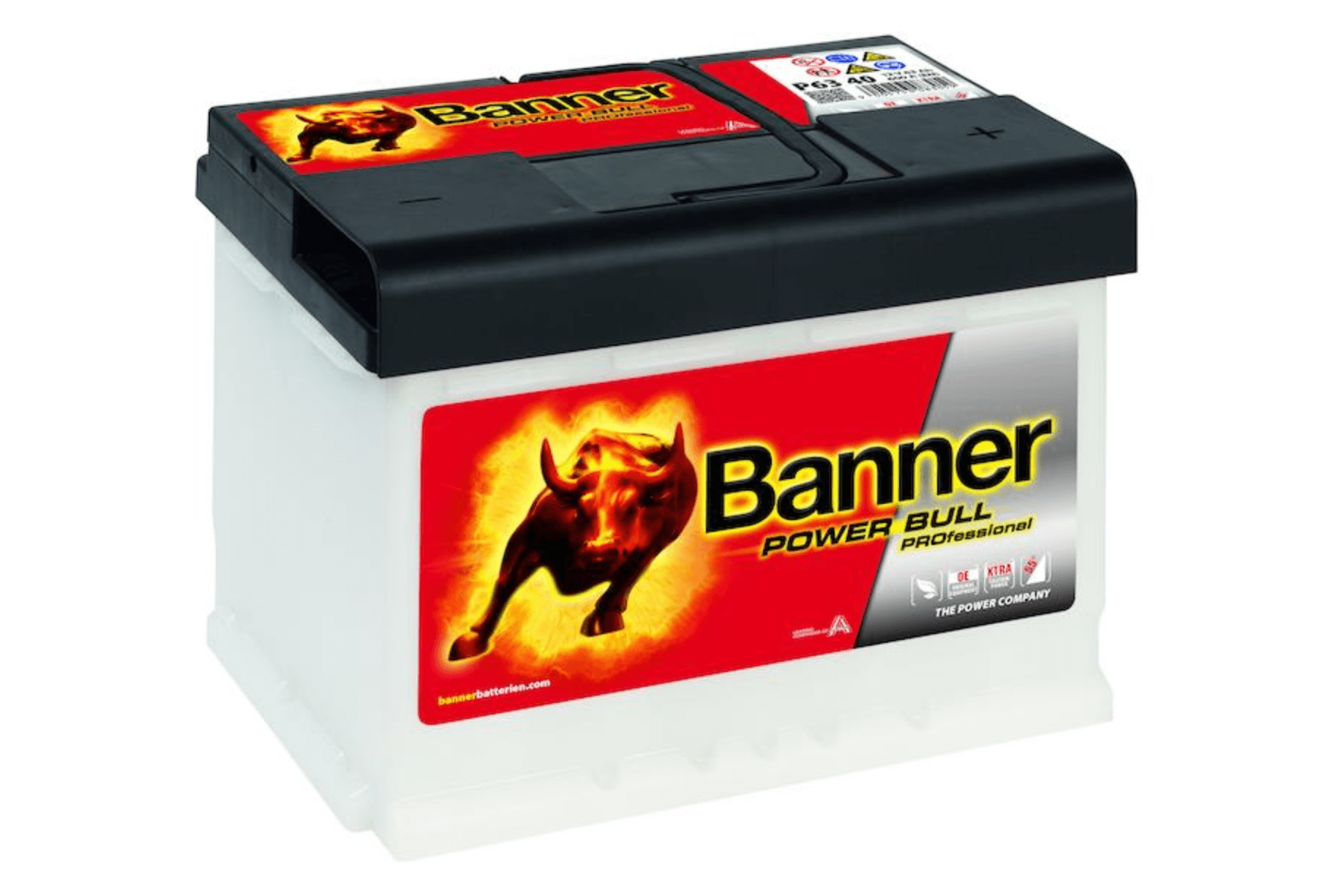 Banner Power Bull Professional 12V 63Ah 620A