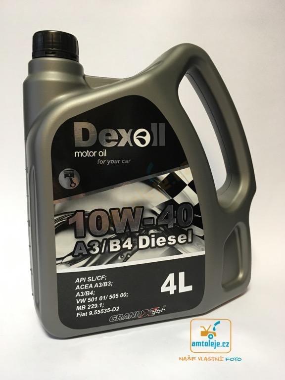Dexoll 10W-40 Diesel 4L