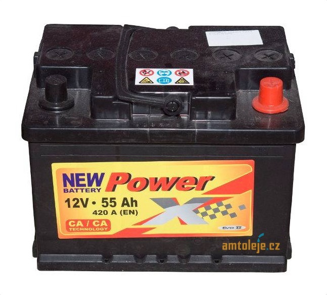 Power X 12v 55ah 420A