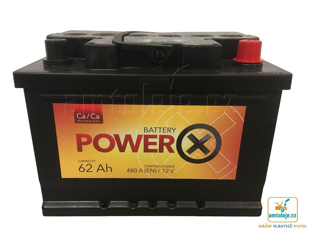 Power X 12V 62Ah 480A