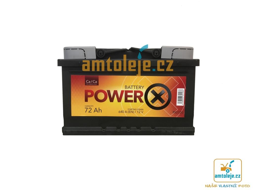 Power X 12V 72Ah 640A