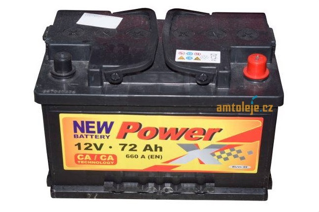 Power X 12V 72Ah 640A