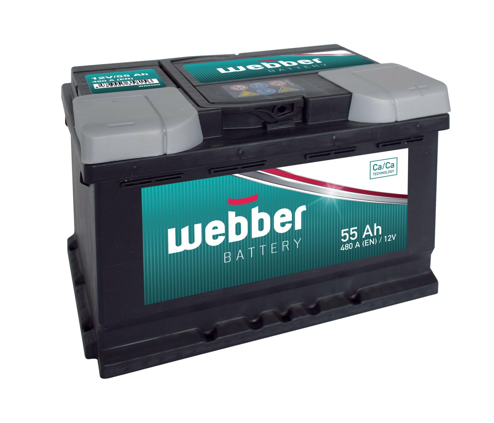 WEBBER 12V 55Ah 460A