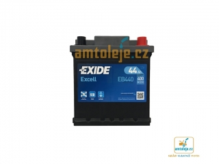 EXIDE Excell 44Ah 400A EB440