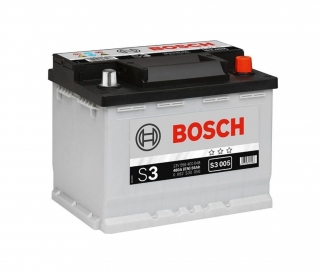 Autobaterie Bosch S3 12V 56Ah 480A