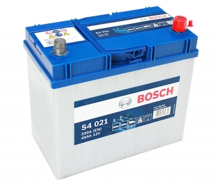 Autobaterie Bosch S4 12V 45Ah 330A