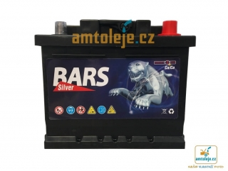 Autobaterie BARS SILVER 12V 44Ah 380A