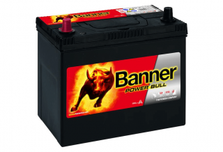 Banner Power Bull 12V 45Ah 360A - plus vlevo