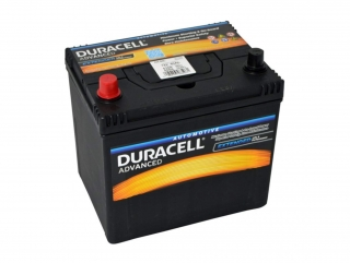 Duracell Advanced 12V 60Ah 510A - plus vlevo