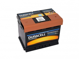 Duracell Advanced 12V 62Ah 550A
