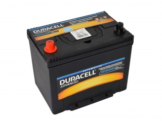 Duracell Advanced 12V 70Ah 600A levé PLUS