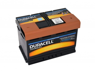 Duracell Advanced 12V 74Ah 680A