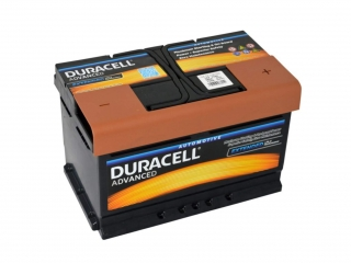 Duracell Advanced 12V 72Ah 660A