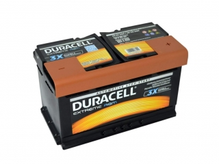 Duracell Extreme AGM 12V 80Ah 800A
