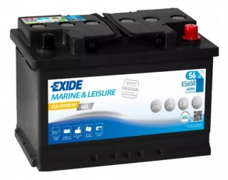 EXIDE EQUIPMENT GEL 12V 56Ah ES650