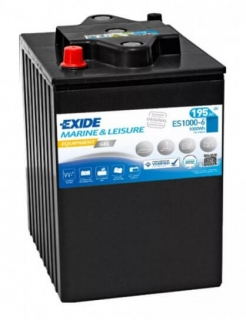 EXIDE EQUIPMENT GEL 6V 195Ah ES1000-6