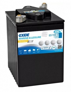 EXIDE EQUIPMENT GEL 6V 200Ah ES1100-6