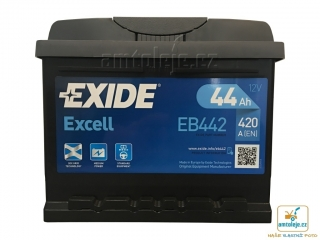 EXIDE Excell 44Ah 420A EB442